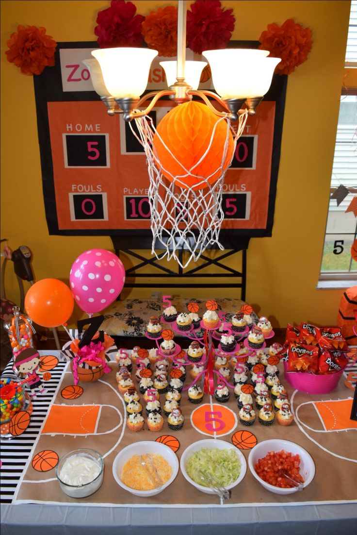 Pin by Deb Foster on Basketball party for Zoey's 5th