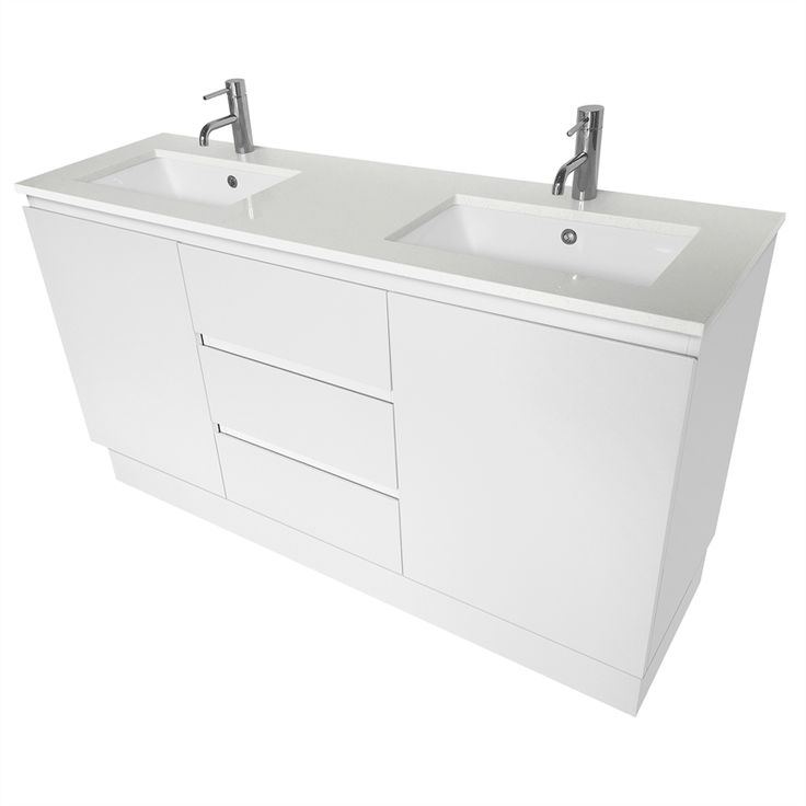 Find Cibo Design Caesar Floor Mounted Double Vanity at Bunnings Warehouse   Visit your local store for the widest range of bathroom  amp amp. 17 Best images about Bunnings warehouse diy on Pinterest