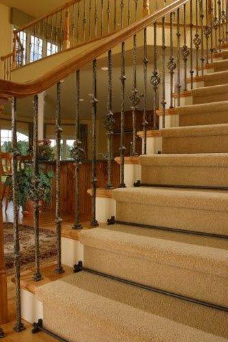 Tringles d'escaliers - Collection Sovereign - Décor Fer forgé