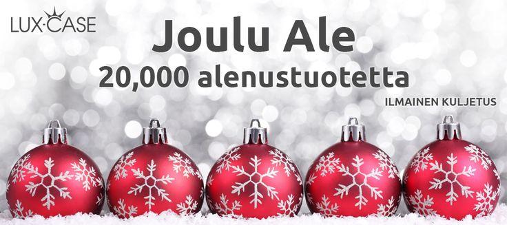 Joulu Ale - 20 000 Tarjoustuotetta - Ilmainen kuljetus- http://lux-case.fi/