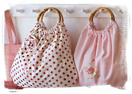 Bolsa de tela sirve para guardar cositas en la cocina y son atractivas para la vista #ConcursoSingerChile
