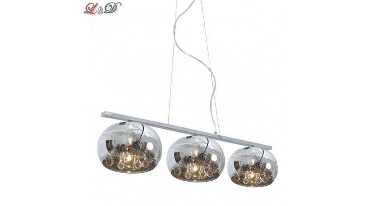 Mennyezeti csillár 3-as CRYSTAL - Mennyezeti lámpák - Lámpa & Design - Lámpák - Világítás - Design