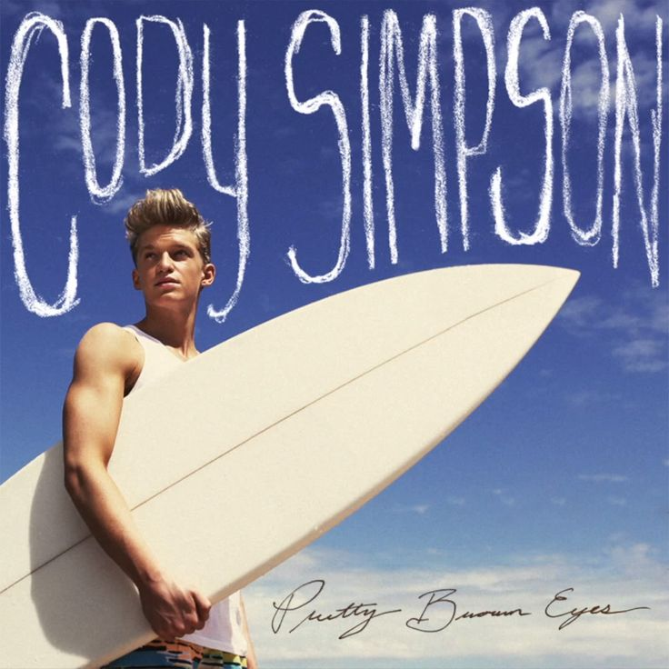 Cody Simpson - Pretty Brown Eyes Lyrics & Cover I think I only like the song because my eyes are brown...