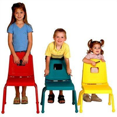 "Creative Mix and Match 14"" Plastic Classroom Stacking Chair Seat Color: Fuchsia, Foot Type: Nickel, Leg Color: Purple by Mahar. $29.51. 14CHR+(SEAT-FS)(NICKEL FOOT)(LEG-PR) Seat Color: Fuchsia, Foot Type: Nickel, Leg Color: Purple Features: -Choose matching ball or self-leveling nickel glides.-Manufactured to industry safety standards.-Can be stacked or turned over on desks or tables.-Must be ordered in sets of 4, call for availability of other quantities.-NOT..."