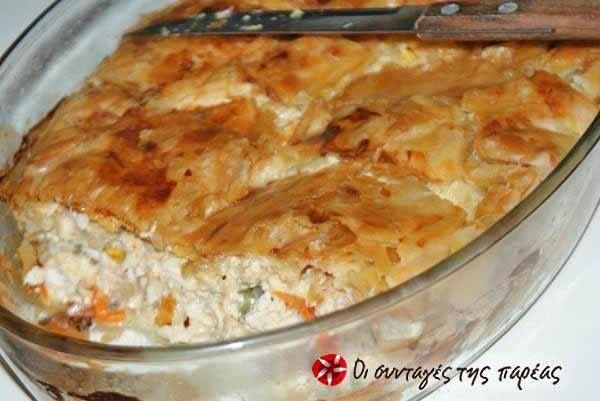 Κοτόπιτα τέλεια - πλούσια σε γεύση και χορταστική, θα γίνει σίγουρα από τις αγαπημένες σας | Diavolnews.gr