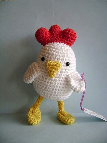 Blanca la gallina blanca por AmiRomi en Etsy
