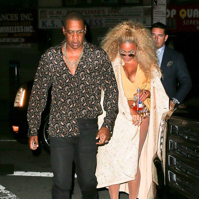 Jay Z Went to Beyonce's Birthday Bash in Your New Favorite Shirt | GQ