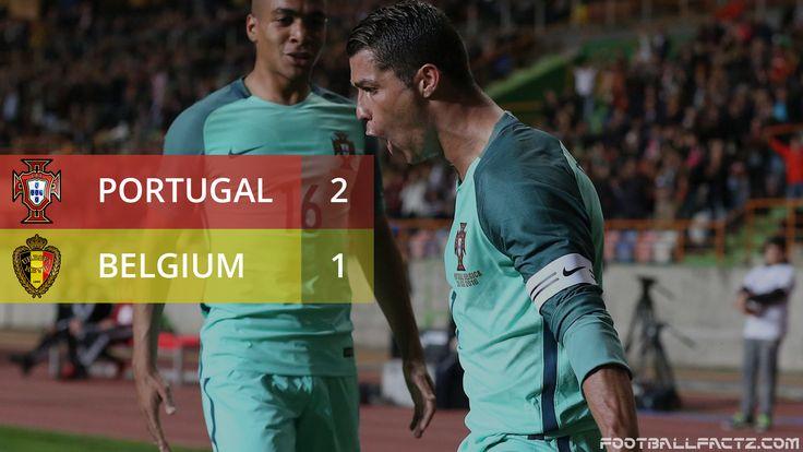 #portugal vs #belgium #cr7 footballfactz.com
