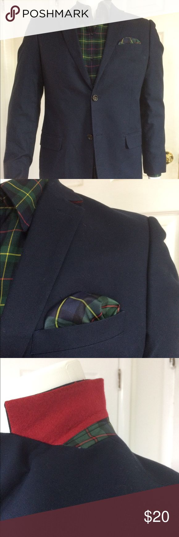 U.S. Polo Association blue blazer W/ elbow patches U.S. Polo Association blue blazer W/ elbow patches size 49L U.S. Polo Assn. Suits & Blazers Sport Coats & Blazers