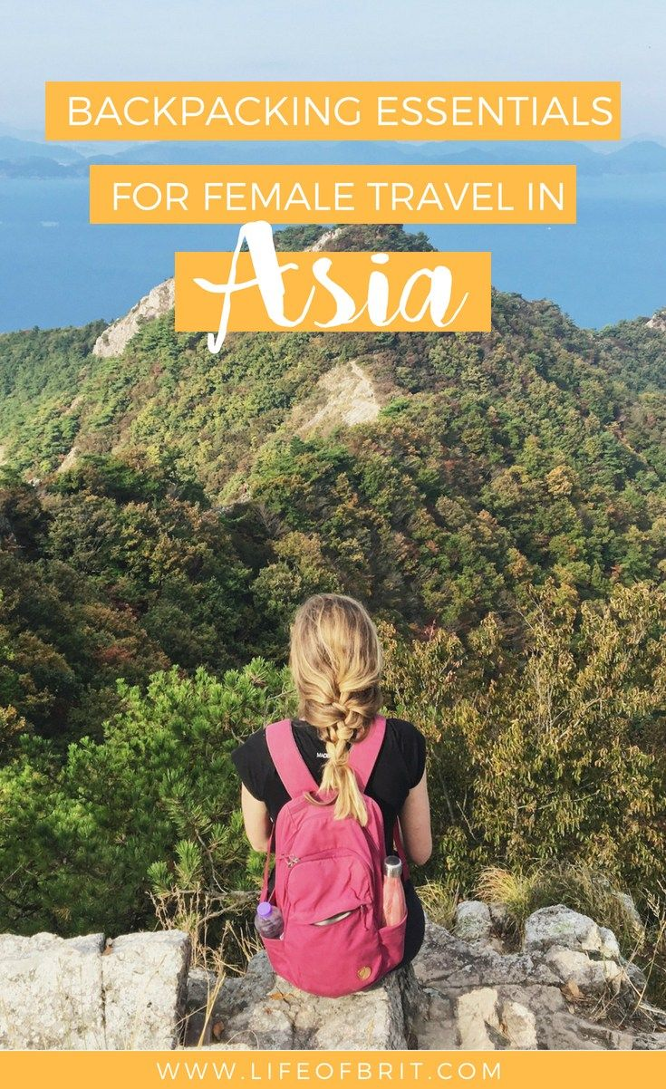 Backpacking Essentials for Asia – My Favorite Travel Gear – life of brit | travel blog