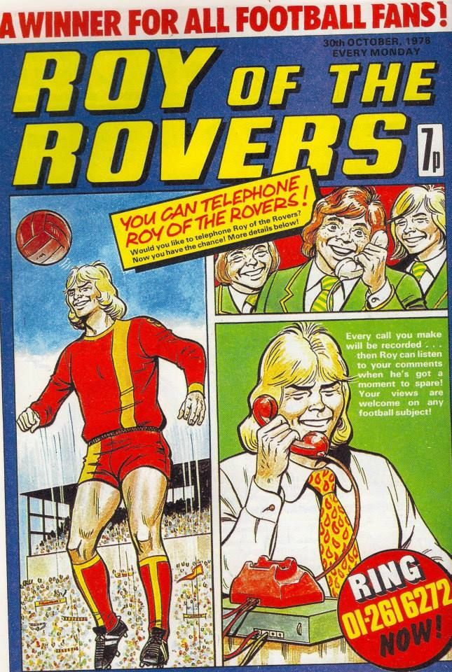 Roy of the Rovers, 30/10/78
