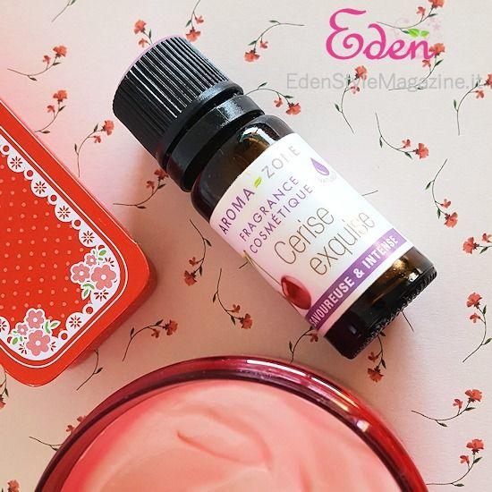fragranza naturale cerise exquise aromazone DIY cosmetics - spignatto - ricette cosmetici fai da te