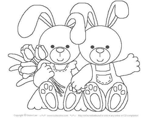 easter spring coloring pages - photo#19
