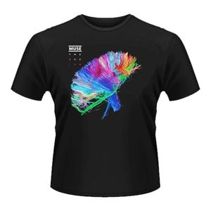 Men's Muse The 2nd Law Album T-Shirt (Black)