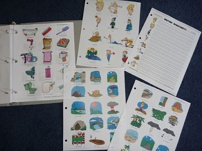 I found a goldmine!!!! I am SO excited about the language flashcards I came across. If anyone is teaching a foreign language, you might want to check them out. The drawings are cute cartoon style. They offer flashcards/word sheets in German, French, Spanish, Italian and...