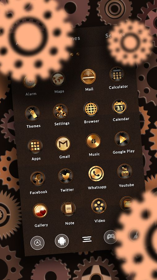 If you are a fan of the fascinating #steampunk subculture accessorize your #gadgets with this amazing brand new Steampunk theme.