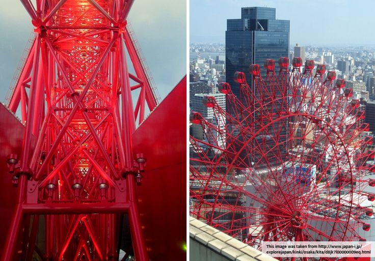 Trixie + Flo: Osaka Ferris Wheel - love!