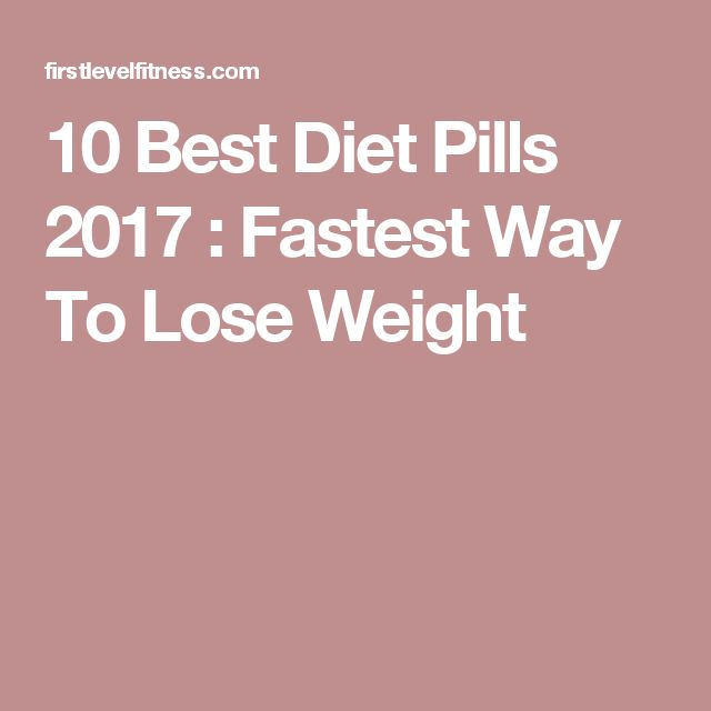 The 7 Best Weight Loss Pills and Supplements That Actually Work