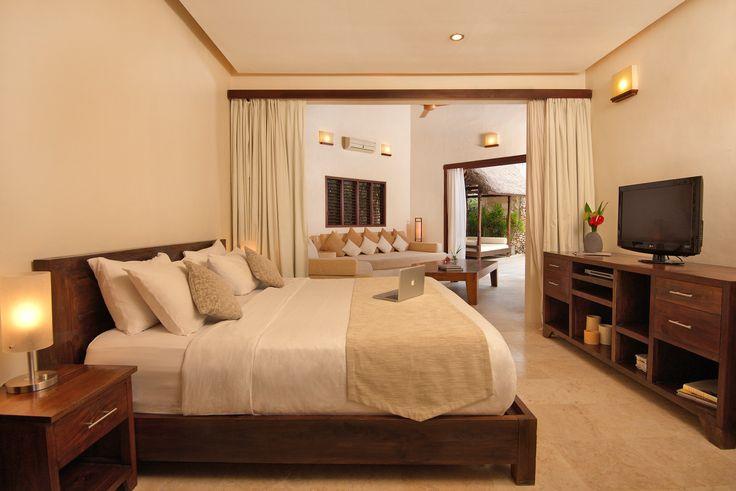 Enjoy a comfortable king-size beds at Villa Kubu Premium Spa One Bedroom. www.villakubu.com