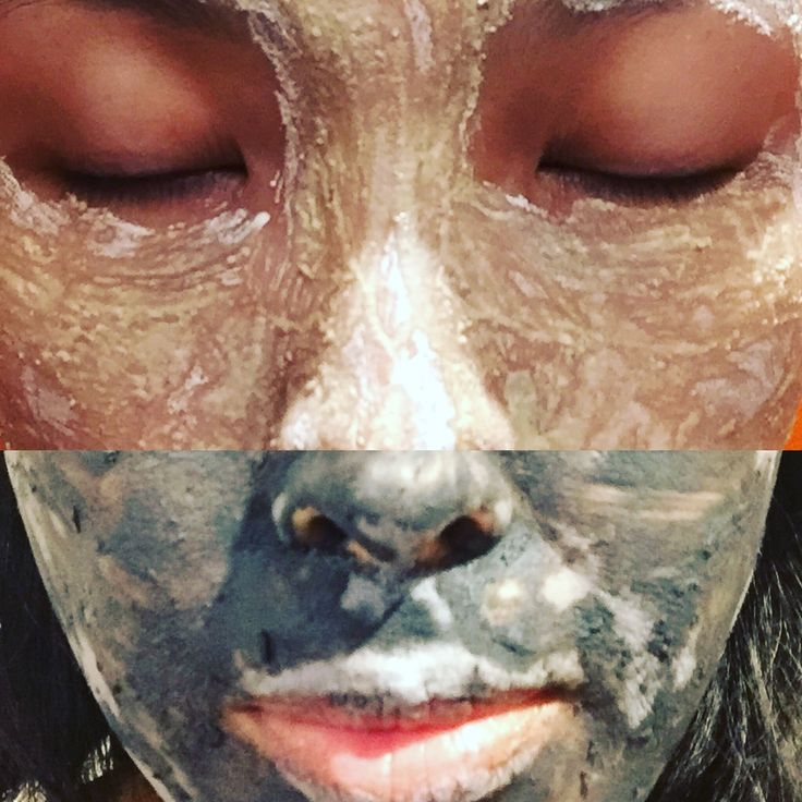 Yin yang dry mask in action