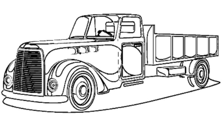 14 best pickup truck coloring pages images on pinterest