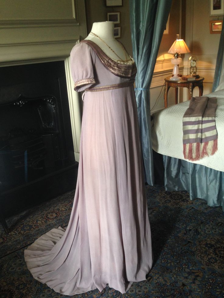 This is totally Letty's dress from The Widow's Redeemer.  It was made for Emma Thompson in Sense and Sensibility.