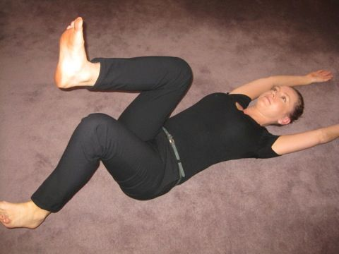 10 best images about back pain on pinterest physical for Floor exercises for abs