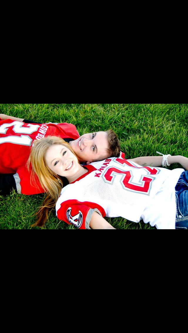 This is football season back in the good old days with the love of my life:)