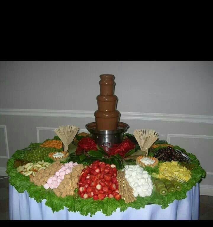 27 best images about Chocolate fountain displays on ...