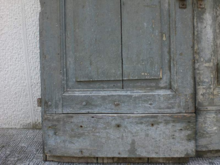 Antico portone casa colonica