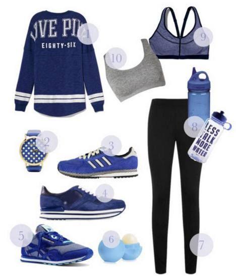 Sähäkän sinistä. Muotibloggaaja Violan siniset sporttivalinnat.