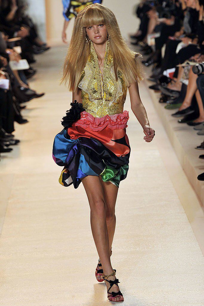 Christian Lacroix Spring 2009 Ready-to-Wear Fashion Show Collection