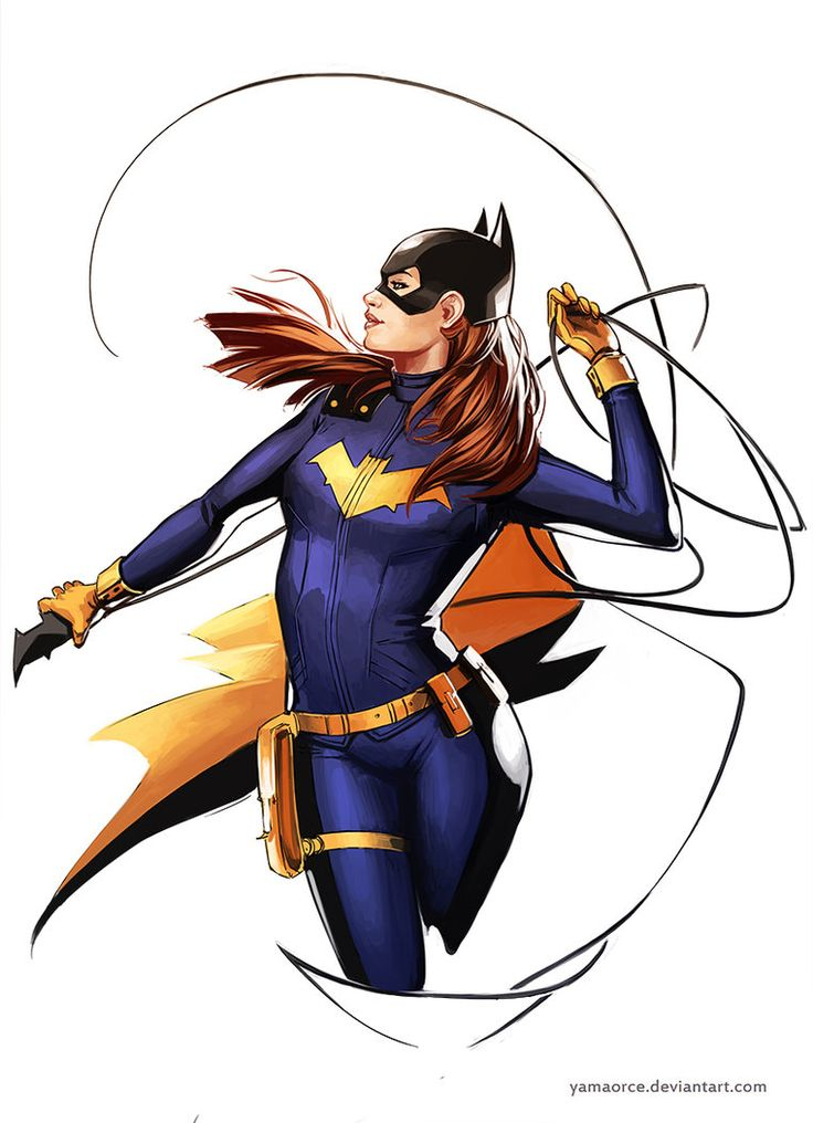 Batgirl by Yama Orce