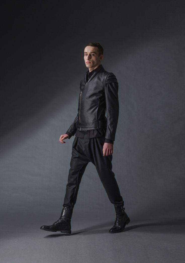 """armor jacket michal kozlowski   diploma collection """"debut""""   2014"""