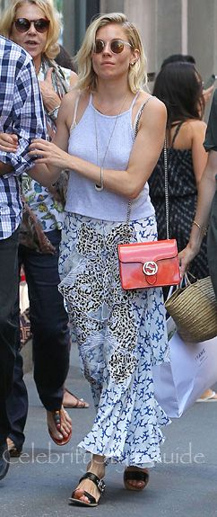 How To Nail The Crop Top Trend Like Sienna Miller