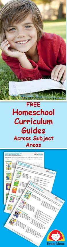 Download your free homeschool curriculum guide for reading, math, spelling, writing, vocabulary, phonics, science, social studies and critical thinking!  Save money on your homeschool curriculum this year!