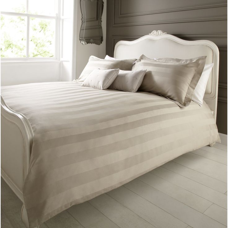 Cotton Stripe Duvet Cover Set