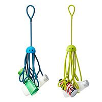 SHOWER SQUIDS|UncommonGoods - these grippy squids hold your shower supplies.  A bit pricey, but really cute.
