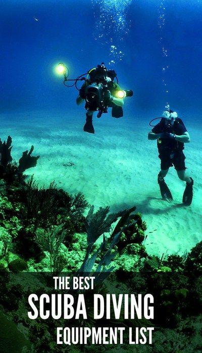 best scuba diving equipment list.