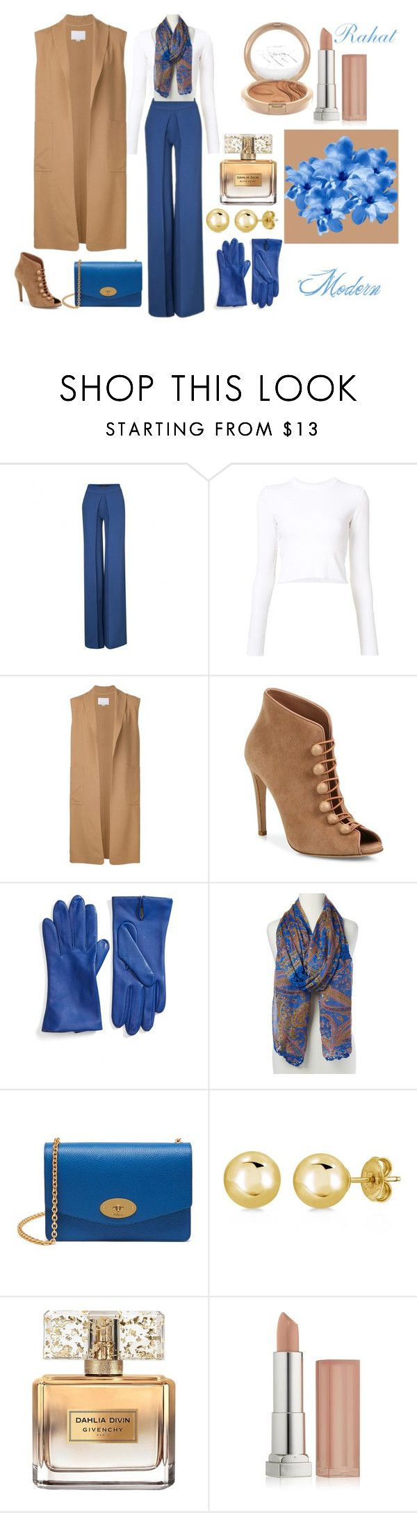 """""""Klasik&Şık"""" by terspabuclar on Polyvore featuring moda, Proenza Schouler, Alexander Wang, Gianvito Rossi, Fownes Brothers, Raj Imports, Mulberry, Mariah Carey, BERRICLE ve Givenchy"""