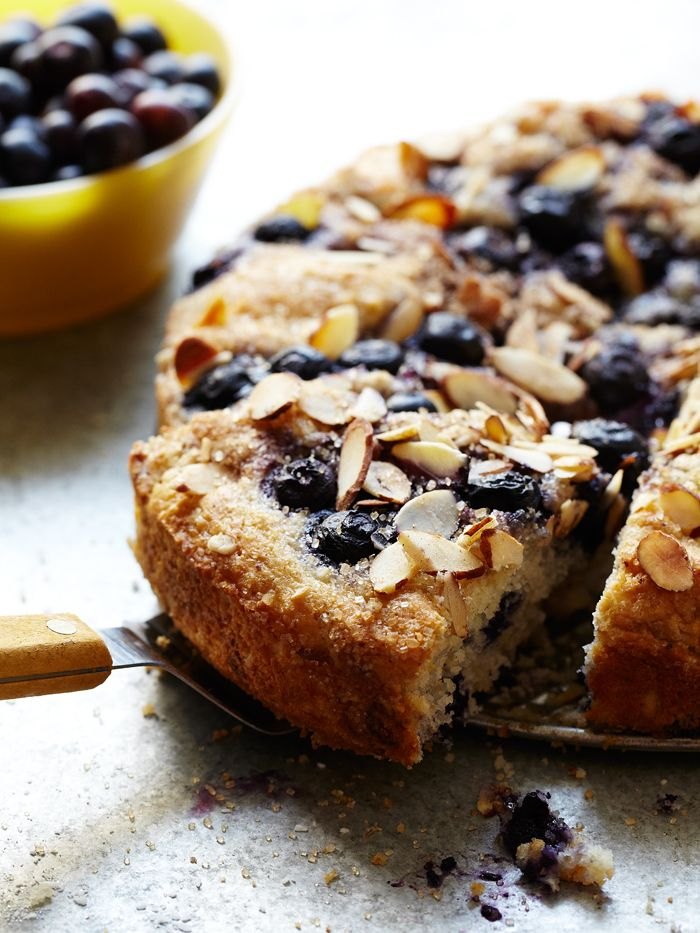 Mixed Berry Almond Cake