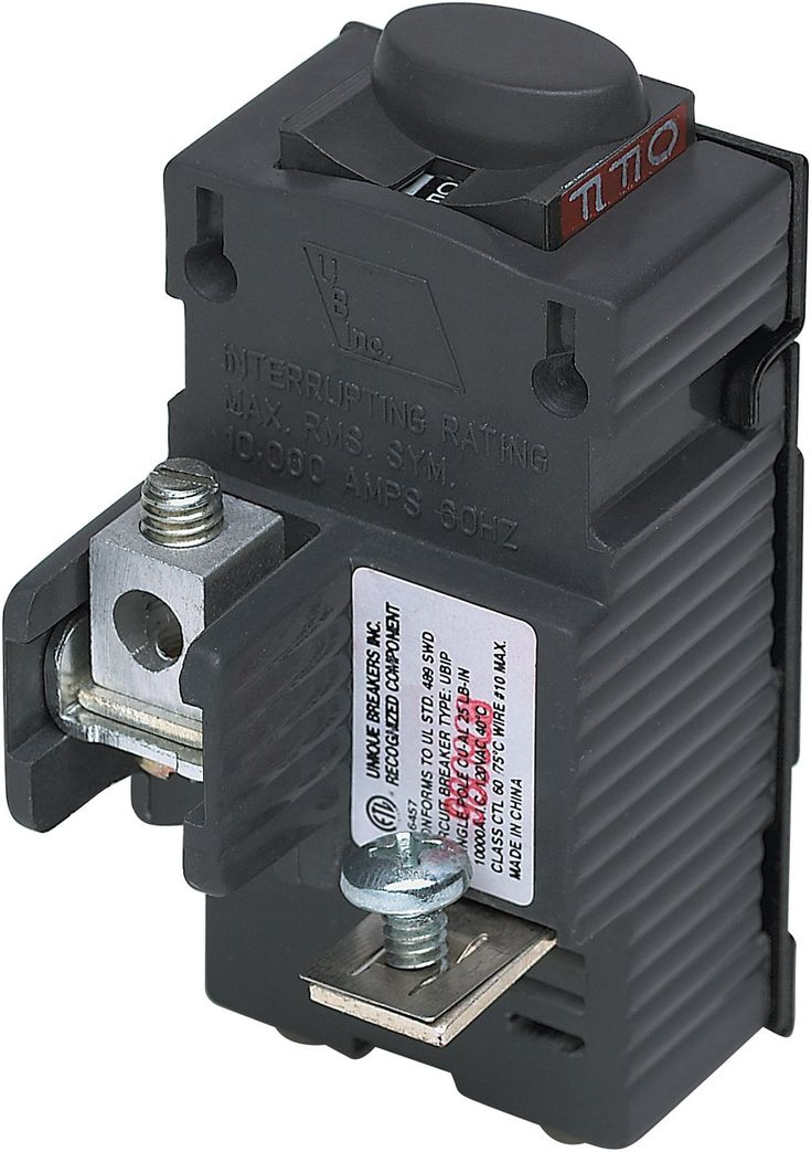 Ubip120 New Pushmatic P120 Replacement One Pole 20 Amp Circuit Breaker Manufactured By Connecticut Electric Visit T Breakers Circuit Electricity