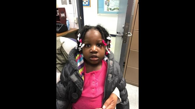 The Detroit Police Department is looking to find the parents for a toddler who was found wandering on Detroit's west side early Sunday morning.