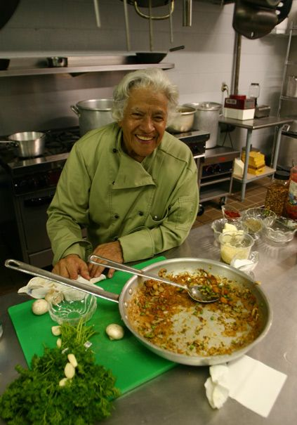 """""""THE QUEEN OF CREOLE CUISINE"""" master and celebrity Chef Leah Chase, Owner of Dooky Chase Creole Restaurant in New Orleans. 