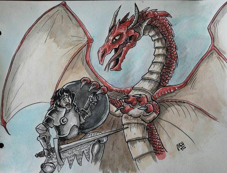Almer y el Dragn  by Agucho76