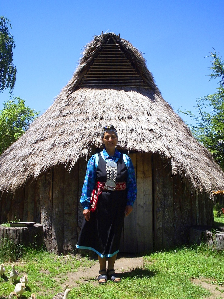 Araucania: Pucón, Chile. Irma Epulef, owner of the Kila Leufu Farmstay. Book this experience at http://destinalo.com/proveedor/58