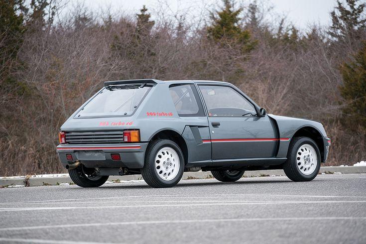 1984 Peugeot 205 Turbo 16 #ClassicCar #Peugeot205Turbo #Peugeot #Auction #RMSothebys