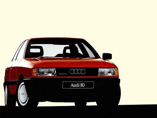 Audi 80 vintage Audi80 red rossa old cars