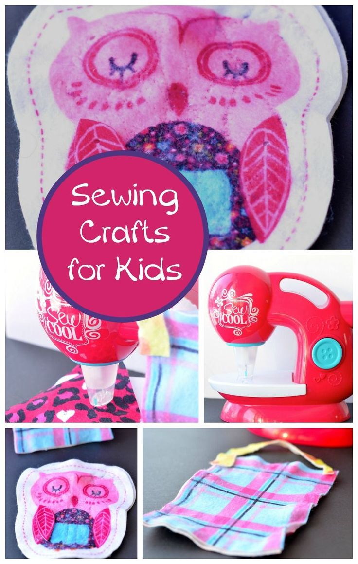 Sewing crafts for children - Looking For Fun Sewing Crafts For Kids That Are Safe Enough For Younger Children To Make