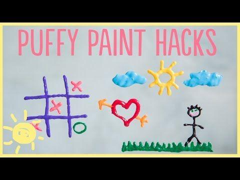 DIY | 3 Puffy Paint Hacks - YouTube